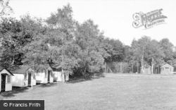 Farley Green, Tree Tops Holiday Camp, Chalets c.1955