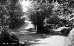 Farley Green, Tree Tops Holiday Camp, Entrance c.1955