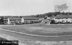 Farnborough, All Saints Crescent c.1960