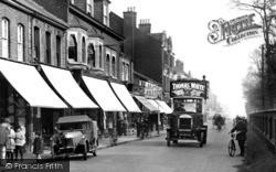Farnborough, Bus In Lynchford Road 1924