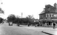 Farnborough, Farnborough Road, Pinehurst Corner c.1955