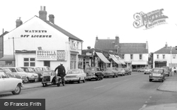 Farnborough, Keetella Garages Ltd, Camp Road c.1965