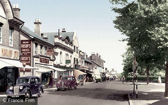Farnborough, Lynchford Road c1955