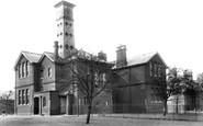 Farnborough, North Camp, Brigade School 1905