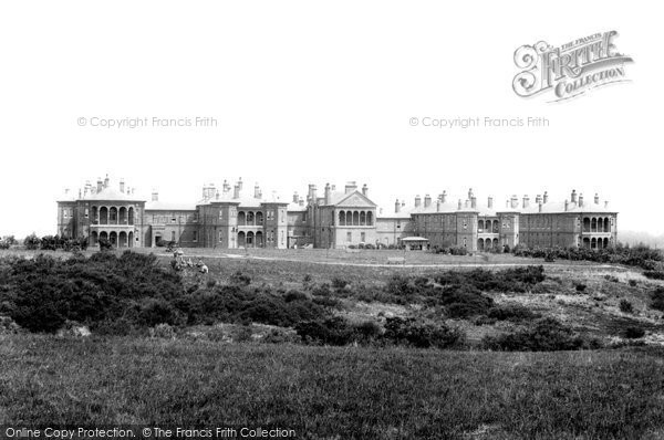 Photo of Farnborough, North Camp, Connaught Hospital 1903