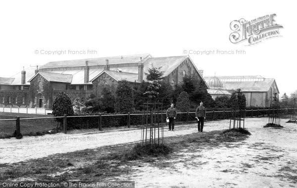 Photo of Farnborough, North Camp Gymnasium and Swimming Baths 1905