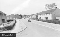 Farnborough, North Farm Road c.1960