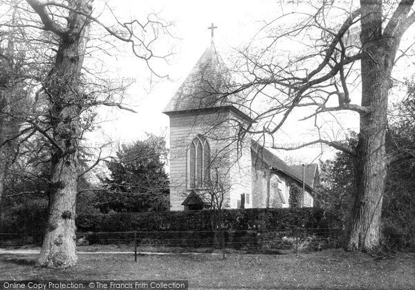 Farnborough, Old Parish Church 1897.  (Neg. 39029)  © Copyright The Francis Frith Collection 2007. http://www.francisfrith.com