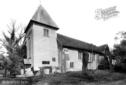Farnborough, Old Parish Church 1897