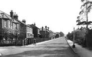 Farnborough, Park Road 1925