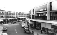 Farnborough, Queensmead Shopping Centre c1965