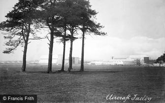 Farnborough, Royal Army Aircraft Factory 1913