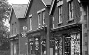 Farnborough, Shop In Victoria Road 1913