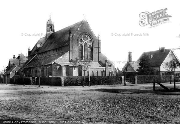 Farnborough, St Mark's Church 1897.  (Neg. 39031)  © Copyright The Francis Frith Collection 2007. http://www.francisfrith.com