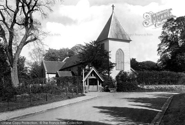 Farnborough, St Peter's Church 1921.  (Neg. 70030)  © Copyright The Francis Frith Collection 2007. http://www.francisfrith.com