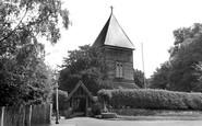 Farnborough, St Peter's Church c.1955