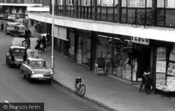 Farnborough, Tesco, Queensmead Shopping Centre c.1965
