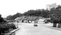 Farnborough, The Railway Station 1924