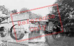 Farncombe, Bridge Over The River Wey c.1965