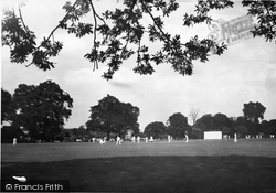 Farncombe, Broadwater Recreation Ground And Cricket Ground c.1955