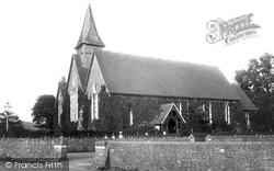 Farncombe, St John's Church 1895