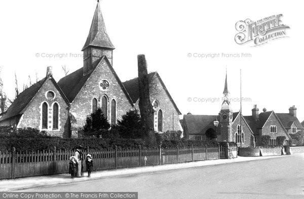 Photo of Farncombe, St John's Church And Schools 1905