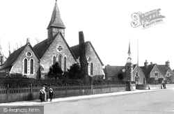 Farncombe, St John's Church And Schools 1905