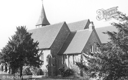 Farncombe, St John's Church c.1965