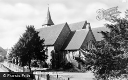 Farncombe, St John's Church c.1965