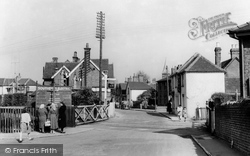 Farncombe, The Crossing c.1955
