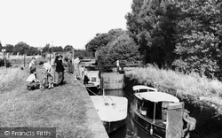 Farncombe, The Lock c.1955