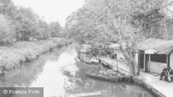 Farncombe, The River From The Boat House c.1965