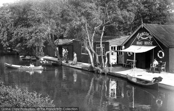 Photo of Farncombe, The River Wey c.1955
