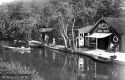 Farncombe, The River Wey c.1955