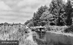 The River Wey c.1955, Farncombe