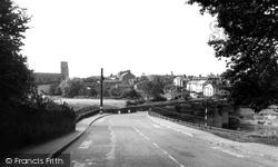 Farndon, The Bridge And Holt c.1960