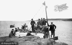 Farne Islands, Boat To Holy Island c.1935