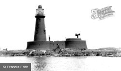 Farne Islands, Longstone Lighthouse c.1933