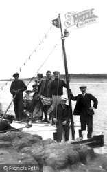 Farne Islands, Pleasure Boat c.1935