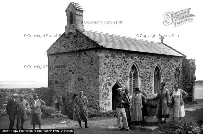Photo of Farne Islands, St Cuthbert's Chapel, Inner Farne 1933
