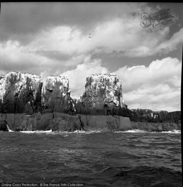 Photo of Farne Island, the Pinnacles 1959, ref. F152015