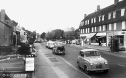 Farnham Common, High Street c.1965