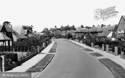 Farnham Common, Mayflower Way c.1965