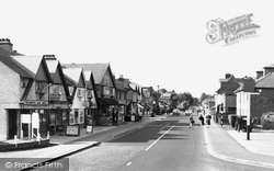 Farnham Common, The Broadway c.1960