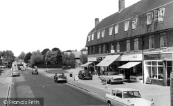 Farnham Common, The Parade 1962
