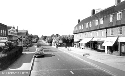 Farnham Common, The Parade c.1960