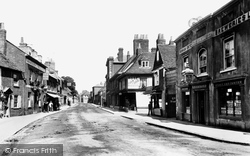 Farnham, East Street 1895