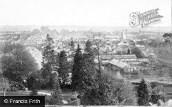 Farnham, From The Castle 1899