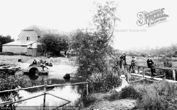 Farnham,Hatch Mill 1904,Surrey