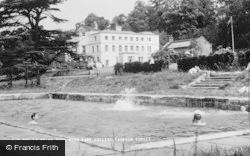 Farnham, Moor Park College, The Swimming Pool c.1965